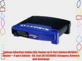 Linksys EtherFast Cable/DSL Router w/4-Port Switch BEFSR41 - Router   4-port Switch - EN Fast