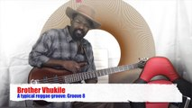 600 African Bass Guitar Tutorial - Bass lines suitable for reggae: Groove 8