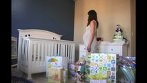 Time-lapse magique : femme enceinte du 1er jour à la naissance  1 photo par jour