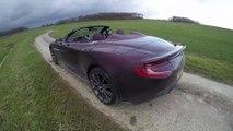 Aston Martin Vanquish S Volante : l'essai en vidéo