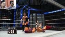 WWE Elimination Chamber 2014 Match (John Cena vs Randy Orton vs Daniel Bryan..)