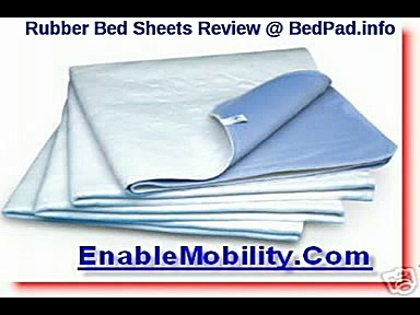 Wet Beds Rubber Bed Sheets Bedwetting and Rubbersheets Review