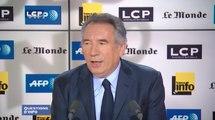 Questions d'info : François Bayrou, président du MoDem, ancien ministre