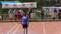 Seconde partie de poules, championnat de France de combiné Jeunes, Sport Boules, Langogne 2015