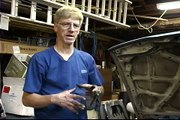 Replacing Cooling System Heater Core Hoses : Checking the Air Bypass Valve When Filling a Car with Coolant