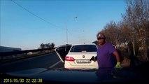 Braquage d'une voiture (Afrique du Sud)