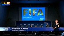 """Sepp Blatter: """"Tout l'argent que mon père a gagné, il l'a gagné en travaillant"""", affirme sa fille"""