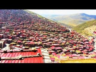 Grands lieux bouddhistes dans le monde - Larung Gar