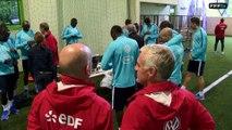 Tests physiques pour les Bleus avec Eric Bédouet