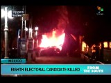 Mexico: Pre-Election Violence Hits 4 States