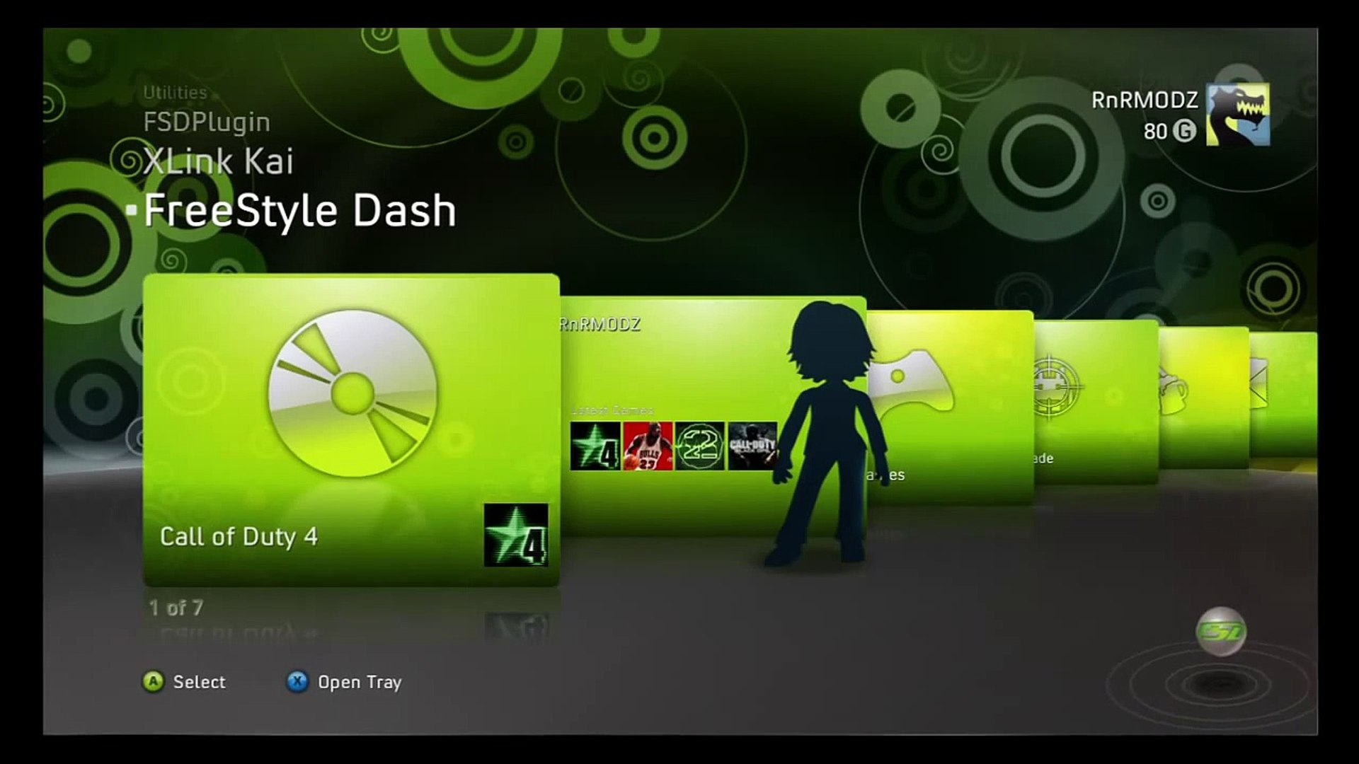 How to install a Game on your JTAG Xbox Using Freestyle Dash
