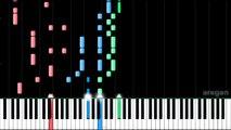 Hatsune Miku - ONLINE GAME ADDICTS SPRECHCHOR 『ネトゲ廃人シュプレヒコール』 | MIDI piano.