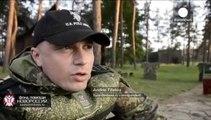 Los separatistas prorrusos atacan Marinka violando el alto el fuego, denuncia Kiev