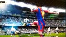 Pes Fifa Messi Handball Goal! WTF?!?