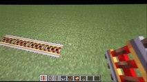 Comment utiliser les différents rails et les différents wagons minecraft [TUTO]
