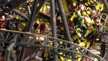Carriages Crash On Alton Towers 'Smiler' Ride 2015 [RAW VIDEO] Aerial Footage Rollercoaster