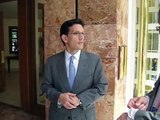 Eric Cantor supports wiping Israel off the map.