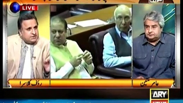 If Rauf Klasra was Imran Khan's place how would have he presented his case in judicial commission against rigging