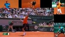 Rafael Nadal vs Novak Djokovic Roland Garros 2013 Semi Final Highligts
