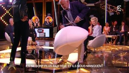 Jérôme Bonaldi présente le siège en cuir de l'émission !