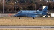 Jet Aviation Business Jets Dassault Falcon 900EX take off rwy23 at Geneva Cointrin [GVA/LSGG]