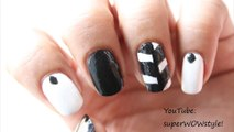 ONE MINUTE -  Nail Art !! ✦ Easy Nail Designs to Do - by superwowstyle