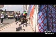 Llenan de color colonia en Ecatepec: rehabilitan colonia con arte