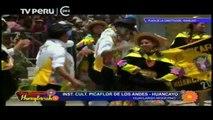 DIA NACIONAL DEL HUAYLARSH 12 INST CULT PICAFLOR DELOS ANDES HUANCAYO 2015