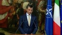 Palazzo Chigi, Letta riceve  il Segretario Generale della Nato Rasmussen.