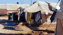 El invierno, una nueva amenaza para los refugiados sirios