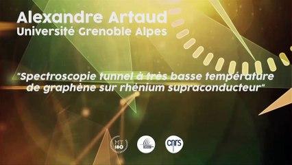 Alexandre Artaud, Premier prix du jury national 2015