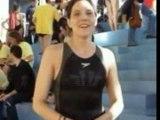 Sylvie 50m Brasse Medaille Bronze