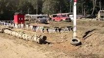 2012 F-150 Ecoboost Vs Dodge RAM HEMI Mud Drags Sooke BC FROG STOMP