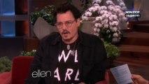 Johnny Depp sexy pour la nouvelle campagne de publicité Dior