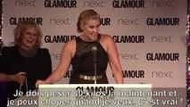 Ce discours hilarant (et feministe) de l'actrice Amy Schumer montre pourquoi cette comique devrait être connue en France