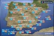 Previsión del tiempo para este jueves 4 de junio