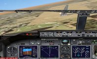 MS Flight Simulator X - Only Just Sucessful 737 landing!