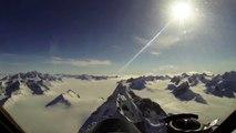 Les images magiques d'un vol au-dessus du Groenland avec la Nasa