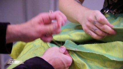 Projet Fashion - Tara et Romain travaillent main dans la main - Émission 4