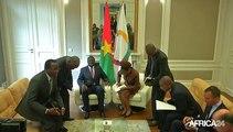 Burkina-Faso, Le Président M. Kafando rencontre la diaspora burkinabé