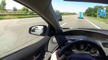 Honda Civic Autobahn Acceleration Top Speed Run 2015