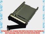 (5 Pack)3.5 DELL Original SAS/SASTu Hard Drive Tray/Caddy for Dell Poweredge 2900 2950 2970