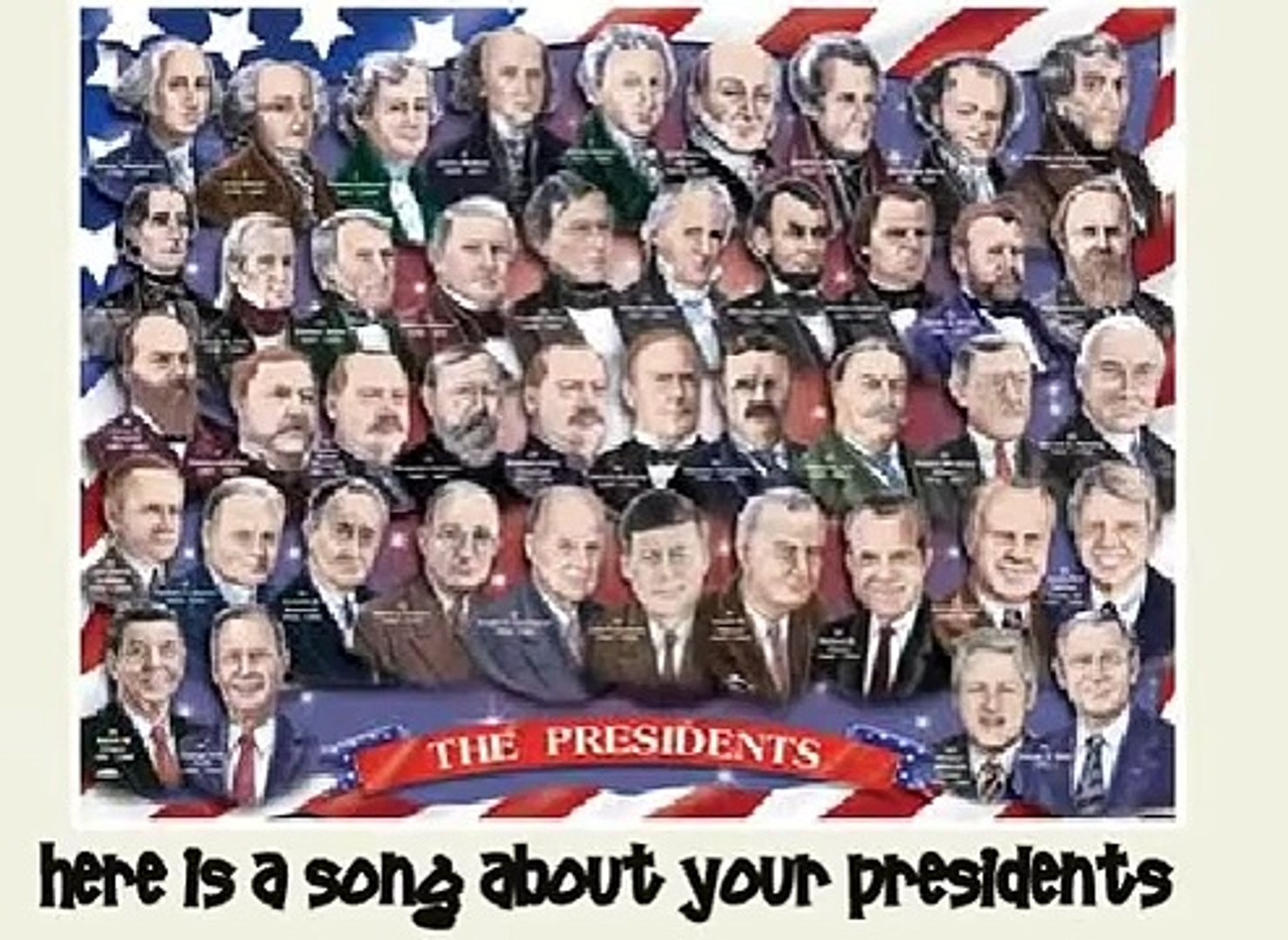 Presidents Song - Song About US Presidents