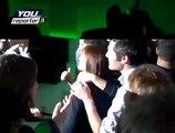 Renata Polverini si scatena in discoteca dopo aver vinto le regionali