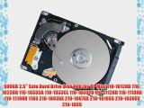 500GB 2.5 Sata Hard Drive Disk Hdd for HP Mini 110-1012NR 110-1023NR 110-1033CA 110-1033CL
