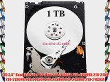 1TB 2.5 Hard Drive for HP Mini 210-2090CA 210-2090NR 210-2100 210-2130NR 210-2145DX 210-2150NR