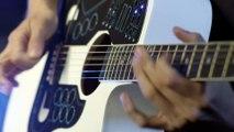 Tout faire avec une guitare  batterie, keyboard... la première guitare MIDI avec un controleur sans fil