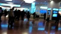 羽田空港国際線ターミナル 到着口→バスのりば Haneda airport int'l terminal