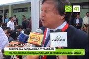 Colegio militar Ramón Castilla celebró aniversario reconociendo a ex alumnos - Trujillo