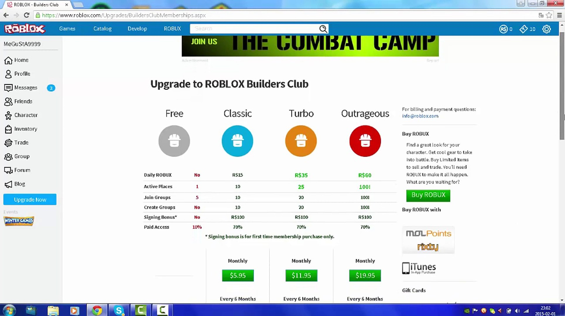How To Get Free Builders Club On Roblox 20152016 Video Dailymotion